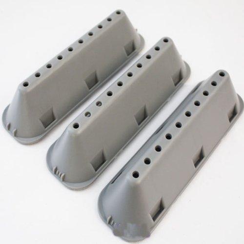 EzeeFix Spares - Palette per cestello lavatrice Indesit con 10 fori, confezione da 3