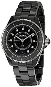 Chanel Men's H2124 J12 Diamond Dial Watch from Chanel