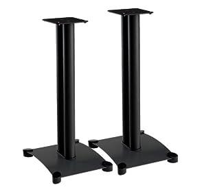 Sanus SF26B1 Black (Pr.) 26-inch Speaker Stands