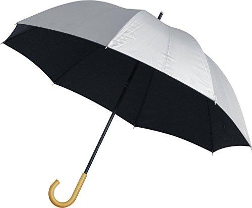 ottostyle.jp UVカット 日傘 直径83cm (軽量 約200g / UVカット率 約99.9% / /UPF50+ / 遮光率 約99.9% / シルバーコーティング)