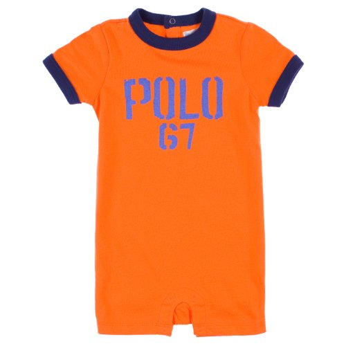 Ralph Lauren Baby-Boys 'Polo 67' Coverall Shorts