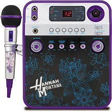 Disney Hannah Montana Karaoke + Video Camera - Purple