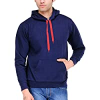 Scott Men's Navy Blue Cotton Sweatshirt - ssl6-L