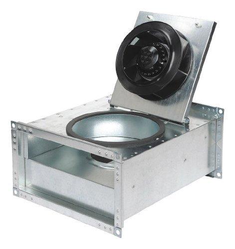 Rectangular Duct Fan : Fantech frd inline rectangular duct fan quot