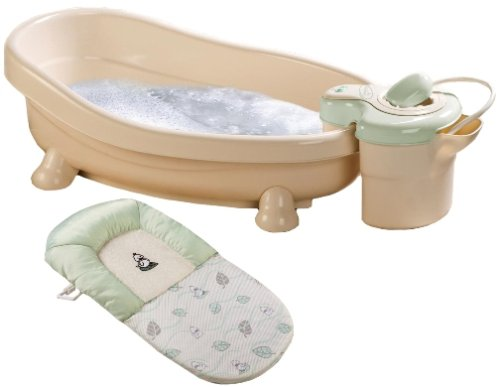 Summer Soothing spa and shower baby bath - boy colors
