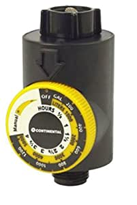 Continental Flow Meter Water Timer Lawn And Garden Watering Equipment Patio