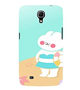 EPICCASE Funny bunny cases Mobile Back Case Cover For Samsung Galaxy Mega 6.3 I 9200 (Designer Case)