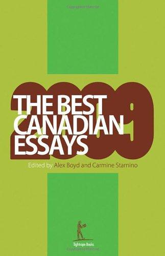 The Best Canadian Essays 2009 (The Best Canadian Essays in English)