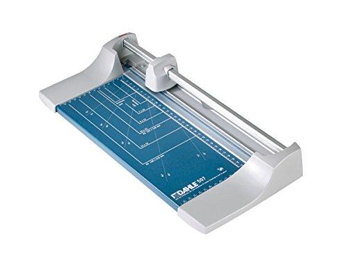 Produktabbildung von Dahle 507 Roll- und Schnitt-Schneidemaschine (Schnittlänge 320 mm) blau