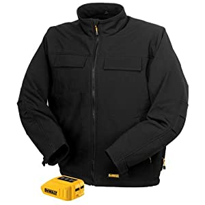 DEWALT DCHJ060B-S 20V/12V MAX Black Heated Jacket and Adaptor, Small