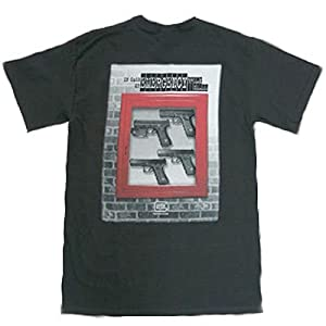 Black Short Sleeve T-Shirt With In Case of Emergency Slogan Size