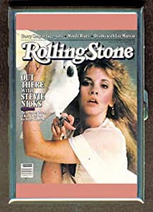 STEVIE NICKS '81 ROLLING STONE ID Holder, Cigarette Case or Wallet: Made in USA