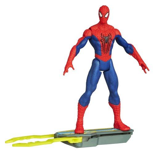 Marvel Amazing Spider-Man 2 Spider Strike Blitz Board Spider-Man Figure 3.75 Inches