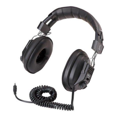 Califone Switchable Stereo/Mono Headphones Wired