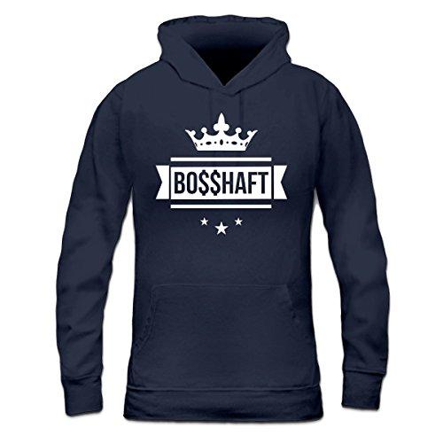 Bosshaft-Frauen-Kapuzenpullover-by-Shirtcity