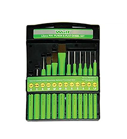 Wulf-WLF-A-3-Pin-Punch-and-Flat-Chisel-Set-(12-Pc)