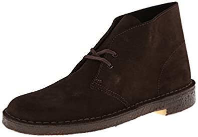 Clarks Men's Desert Boot,Brown Suede,7 M US