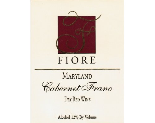 2011 Fiore Winery Cabernet Franc 750 Ml