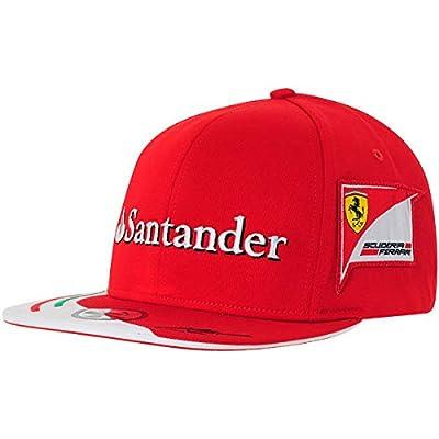 Fernando Alonso Puma Ferrari Flat Brim Fitted Team Hat 2014