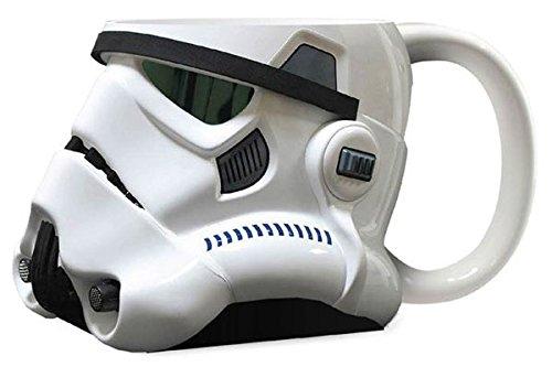 Star Wars STAR255 - Taza para fiestas, blanco