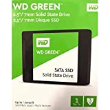 Western Digital SSD WDS100T2G0A 1TB SATA III 6GB S 2.5 7MM WD Green Retail Solid State Drive (Color: Green)