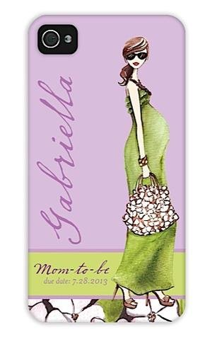 Mom To Be Brunette Iphone Case back-784843