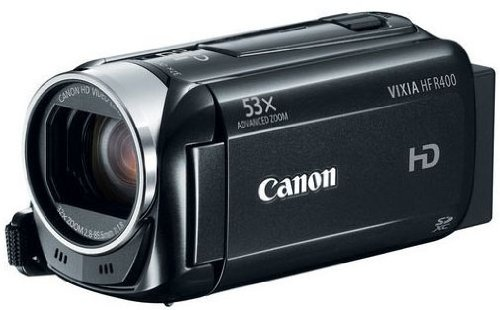 Cheap Canon VIXIA HF R400 HD 53x Advanced Zoom Camcorder