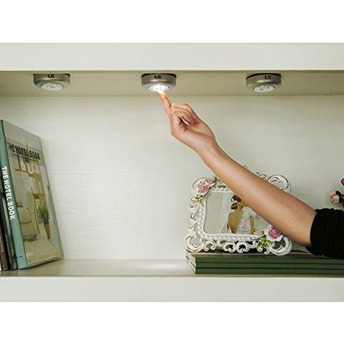 Küchenlampen Günstig ~ die beste le led unterbauleuchte mit 3 leds, touch lampe, batteriebetrieben, küchenlampen