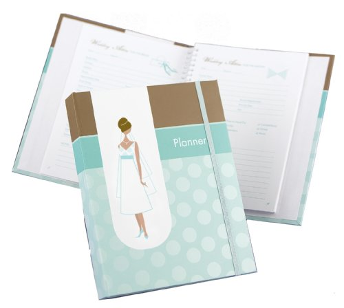 Hortense B. Hewitt Wedding Accessories Bride's Planner, Turquoise