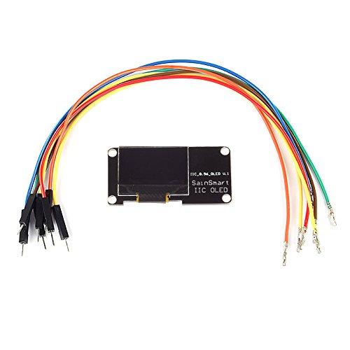 "Sainsmart 0.96"" I2C Iic Serial 128X64 Oled Display Module Blue For Arduino Uno Mega2560 R3"