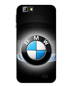 Case Cover Car Printed Black Soft Back Cover For LYF Wind 5