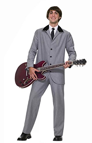 Forum Novelties Men's 60's Mod Revolution British Invasion Costume, Grey, Medium (British Invasion Jacket compare prices)