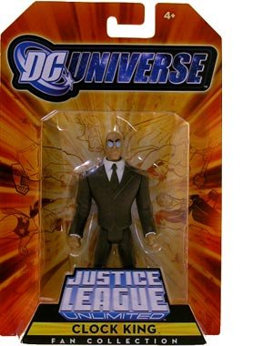 DC Universe Justice League Unlimited Exclusive Action Figure Clock King