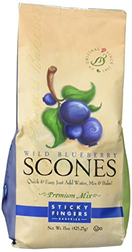 STICKY FINGERS MIX SCONE WLD BLBRY, 15 OZ (Scones Mix compare prices)