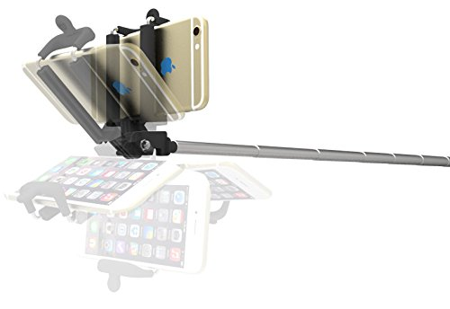 selfie stick kiwii selfie stick monopod 3 in 1 self portrait monopod extendable battery free. Black Bedroom Furniture Sets. Home Design Ideas