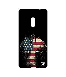 Vogueshell American Eagle Printed Symmetry PRO Series Hard Back Case for Oneplus Two