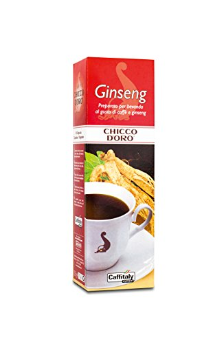 Choose 60 Chicco d'Oro Coffee Capsules Ginseng from Caffè Chicco d'Oro