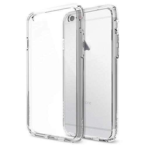 iPhone 6 ケース, Spigen Apple iPhone 4.7 (2014) ウルトラ・ハイブリッド The New iPhone アイフォン6 (国内正規品) (クリスタル・クリア 【SGP10954】)