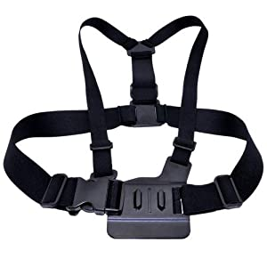 Wild-us Adjustable Chest Mount Harness For Gopro HD Hero 2 and Hero 3
