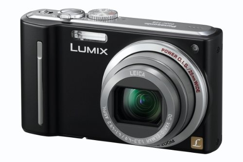 Panasonic Lumix TZ8 Digital Camera - Black (12.1MP, 12x Optical Zoom) 2.7 inch LCD