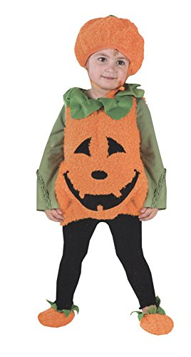 Unisex-Baby - Pumpkin Cutie Pie Vest Toddler Costume