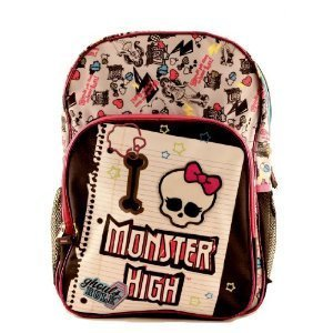 Monster High Medium Backpack - Monster High School Bag from Mattel