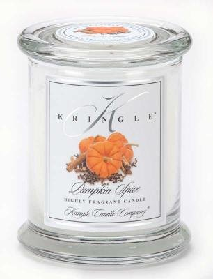 Kringle Candle Company Medium Classic Apothecary Jar - Pumpkin Spice