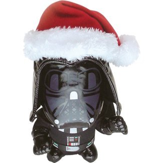 Comic Images Santa Darth Vader Doll Plush - 1