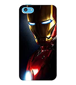 ColourCraft The Warrior Design Back Case Cover for APPLE IPHONE 5C