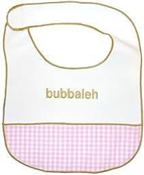 Jewish Baby Girl Bib - Bubbaleh