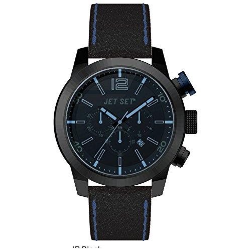 Jet Set Montre chronographe pour homme Munich j6510g Noir-217
