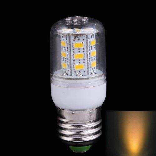 Vktech 10Pcs High Brightness 11W E27 24Leds Led Corn Light Lamp Bulb (Warm White)