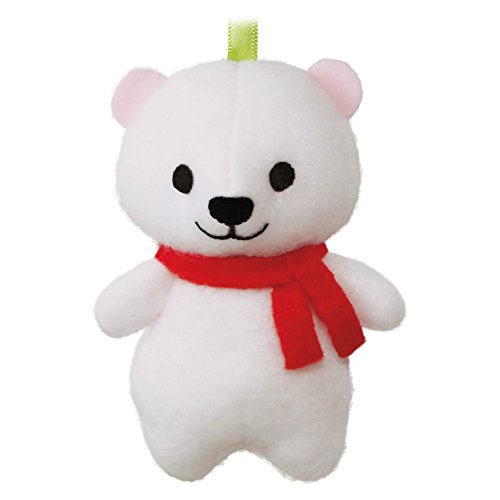 Hallmark Keepsake Kids' Snowball the Polar Bear Plush Ornament