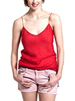 Mine de Rien Top Seda Easy Top (Rojo)